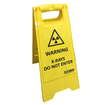 Foldable mobile warning sign Code: AC1094